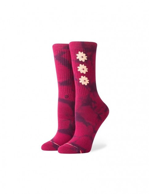 Stance Lovecraft Crew Socks in Maroon