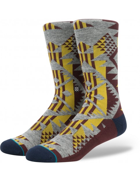 Stance Lowlands Socks in Burgundy