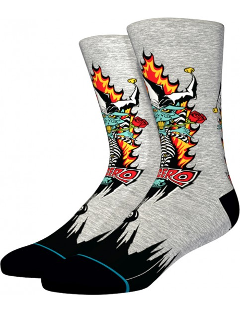 Stance Lucero Joker Socks in Grey