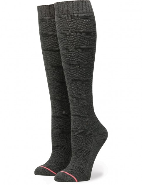 Stance Lunation Crew Socks in Black