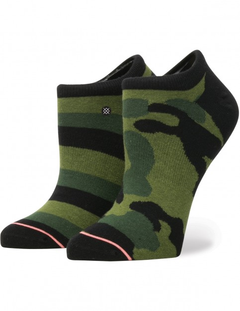 Stance Lurk No Show Socks in Green
