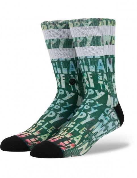 Stance Lyons Xmas Crew Socks in Multi