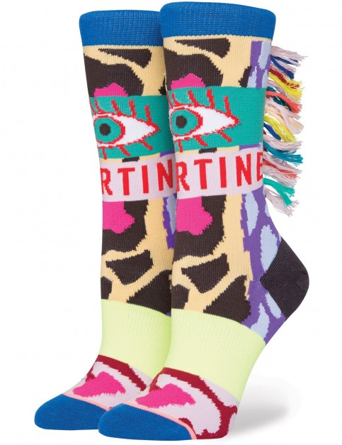 Stance Magic Eye Crew Socks in Multi Colour