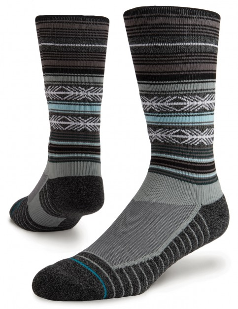 Stance Mahalo Athletic Crew Socks in Grey
