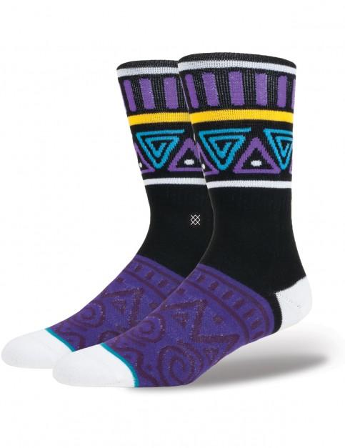 Stance Major Crew Socks in Purple