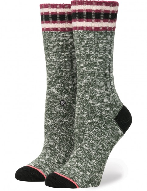 Stance Marlow Crew Socks in Green