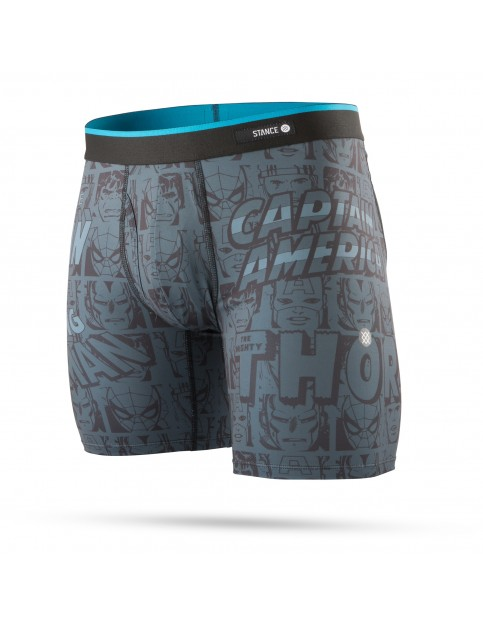 Stance Marvel Boxer Brief Underwear in Black