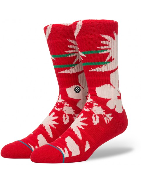 Stance Maui St Nick Socks in Red