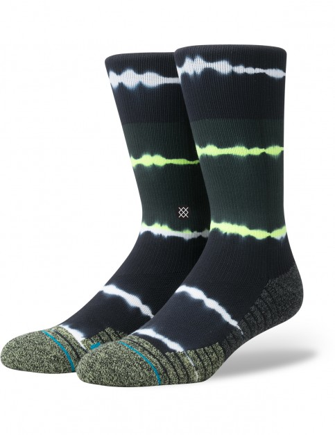 Stance Meara Crew Crew Socks in Volt