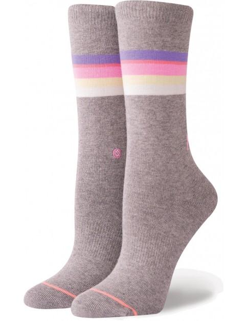 Stance Mega Babe Tomboy Crew Socks in Grey