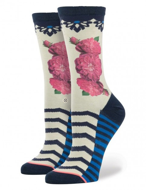 Stance Memoir Socks in Cream