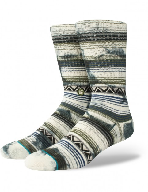 Stance Mexi Crew Socks in Natural