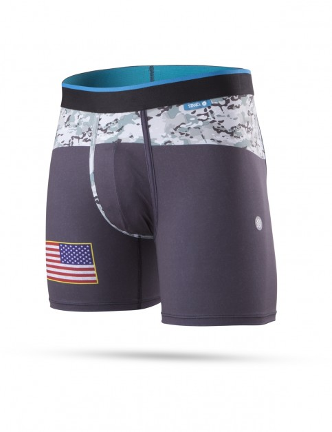 Stance Military Flag Underwear in Black