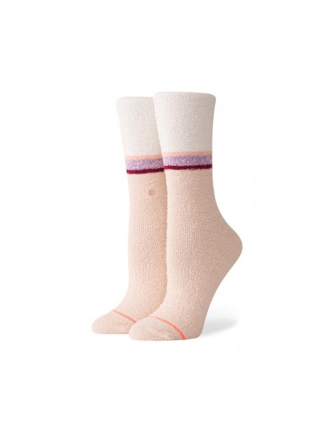 Stance Mind Control Crew Socks in Off White