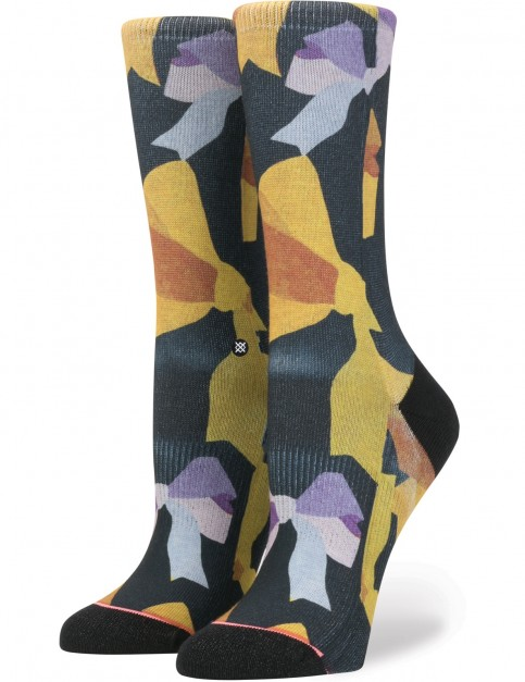 Stance Mine Crew Socks in Black