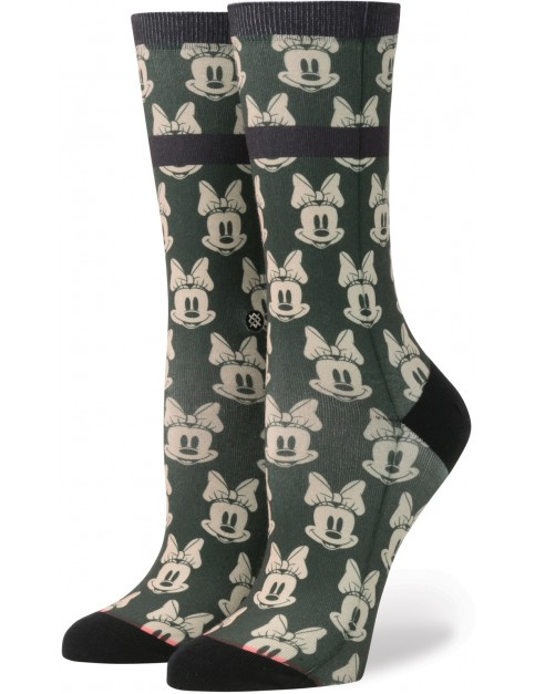 Stance Mini Minnies Crew Socks in Green
