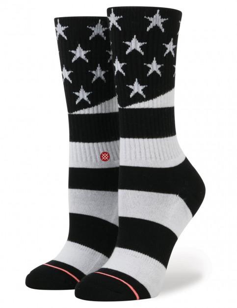 Stance Miss Independent Socks in Black