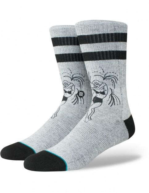 Stance Miss Merica Crew Socks in Grey