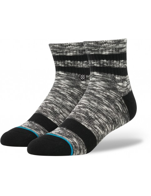 Stance Mission Low Socks in Black