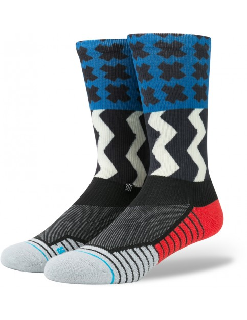 Stance Mission One Socks in Blue