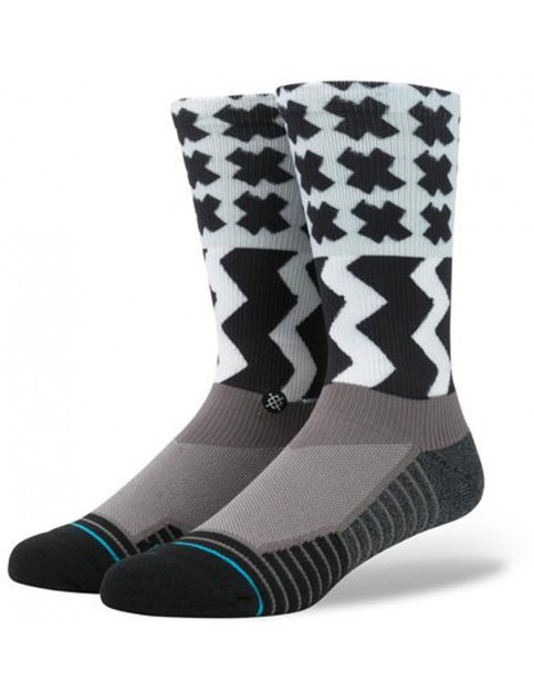 Stance Mission One Socks in Grey