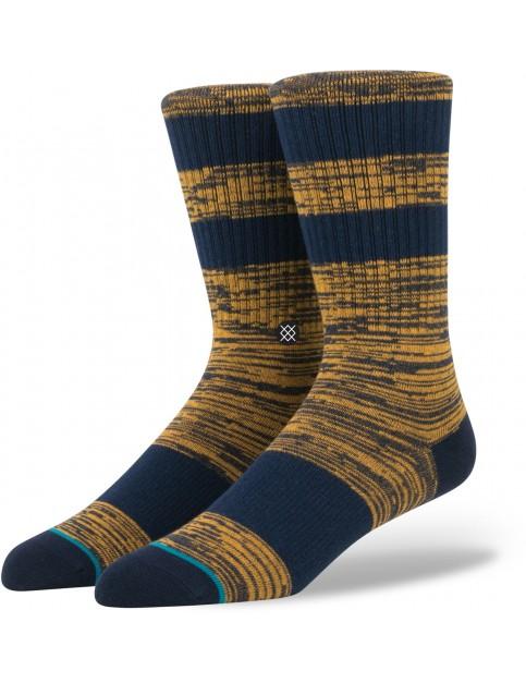Stance Mission Socks in Navy