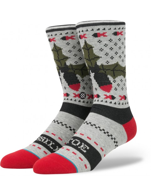 Stance Missle Toe Socks in Grey