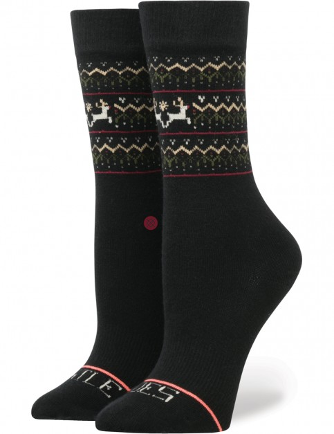 Stance Mistle Toes Socks in Black