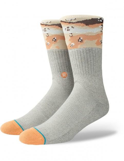 Stance Mojave Crew Socks in Grey