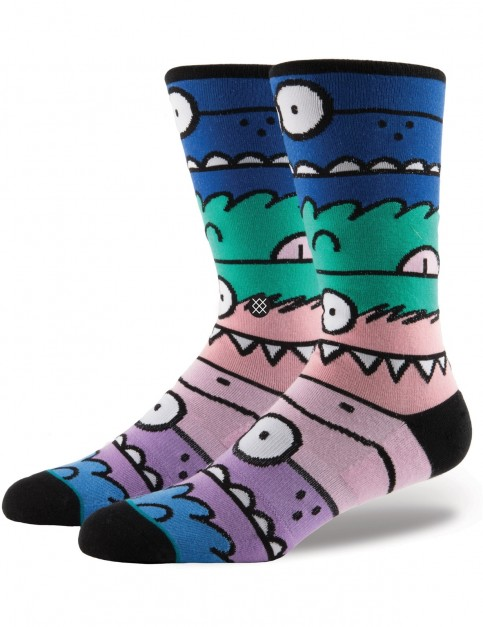 Stance Monster Mash 2 Crew Socks in Multi Colour