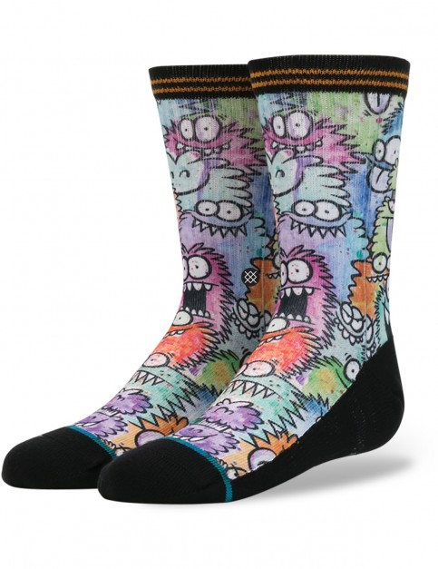 Stance Monster Party Sub Crew Socks in Multi Colour