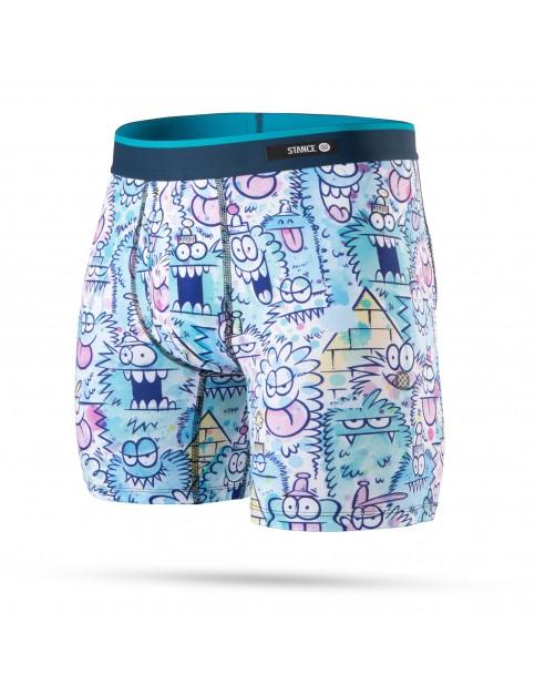 Stance Monster Watercolor Underwear in Blue