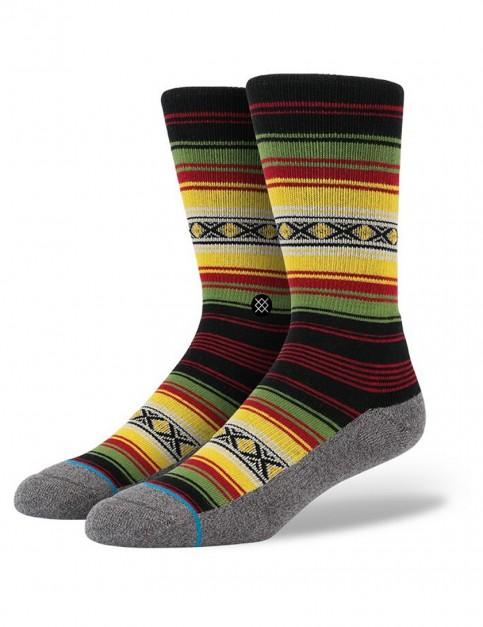 Stance Montego Socks in Red