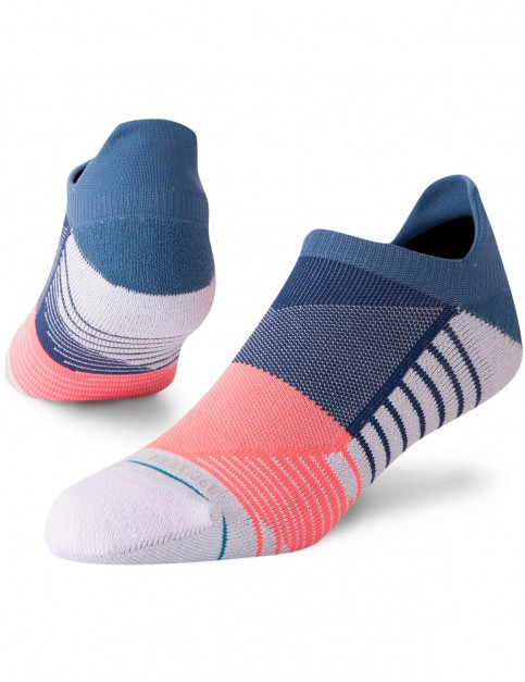 Stance Motto Tab No Show Socks in Blue