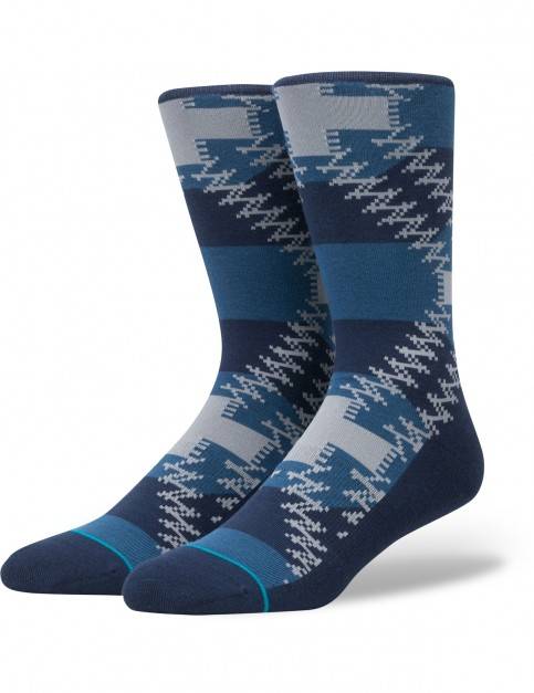 Stance Mustang Crew Socks in Blue