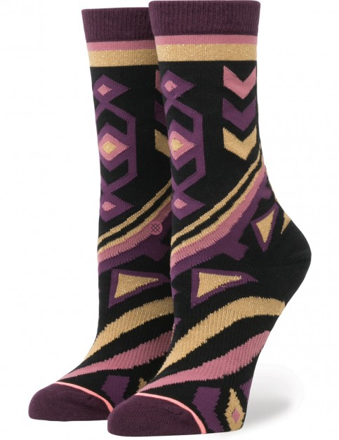 Stance Nefertiti Socks in Black