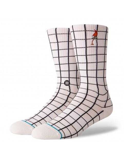 Stance Network Crew Socks in White