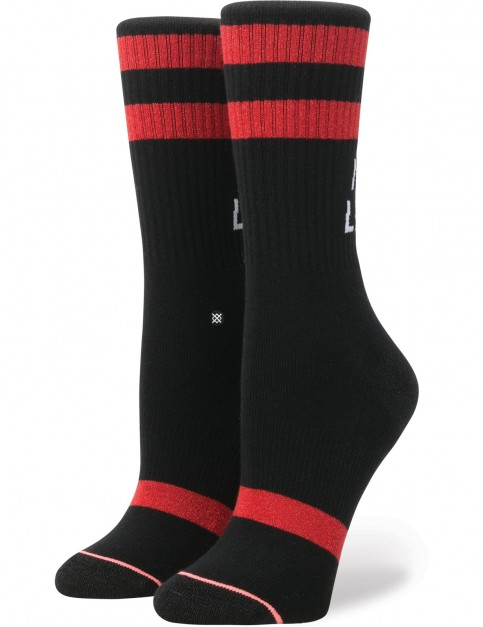 Stance Next Level Crew Socks in Black