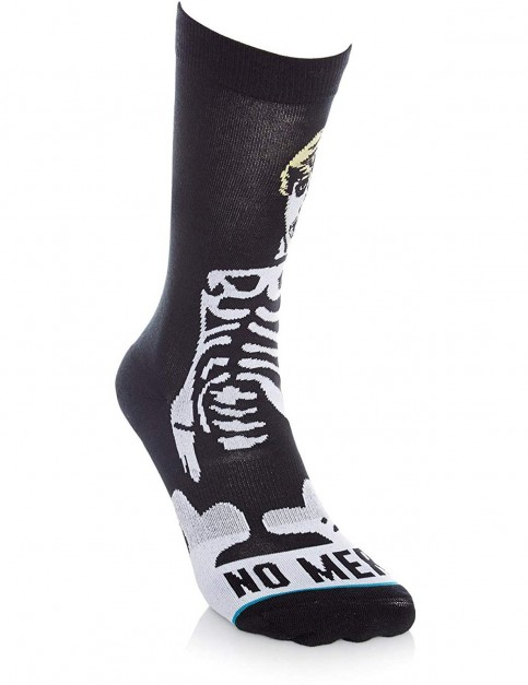 Stance No Mercy Crew Socks in Black