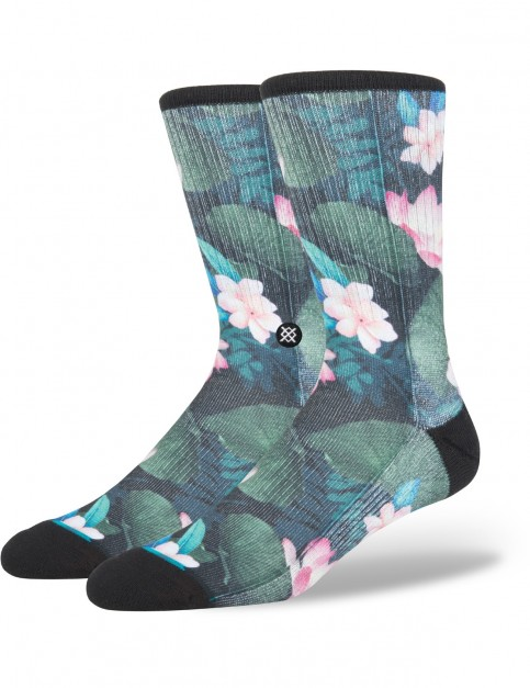 Stance No Vacancy Crew Socks in Black