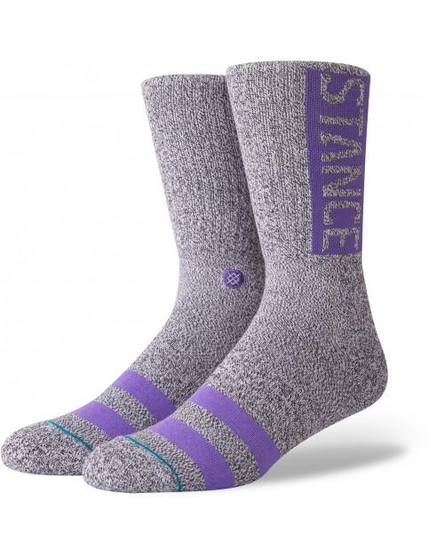 Stance OG Crew Socks in Heather Grey