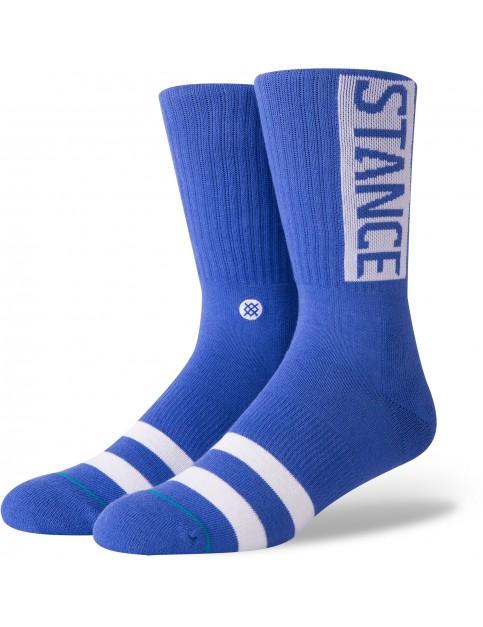 Stance OG Crew Socks in Royal