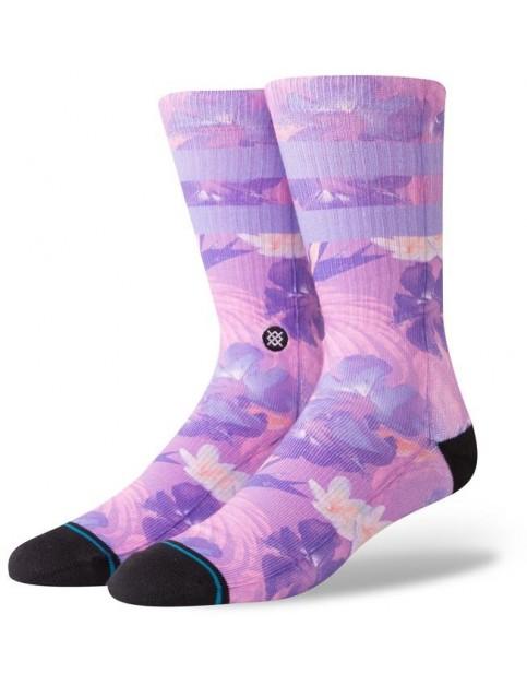 Stance Pau Crew Socks in Violet