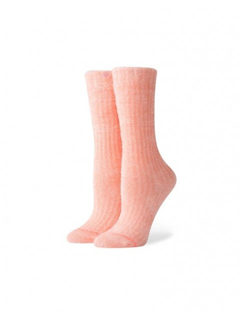 Stance Peachy Keen Crew Socks in Peach