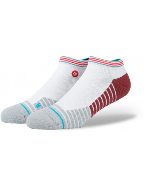 Stance Permanent Low Socks in White