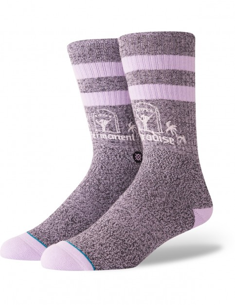Stance Permanent Paradise Crew Socks in Violet