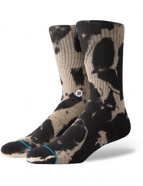 Stance Pier Rat Crew Socks in Black