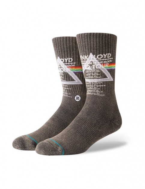 Stance Pink Floyd 1972 Tour Crew Socks in Black