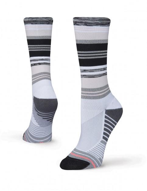 Stance Plank Crew Socks in White