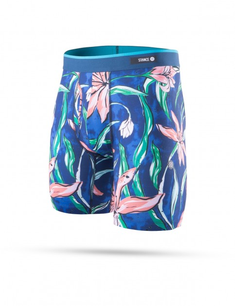 Stance Plumeria Wave Underwear in Blue